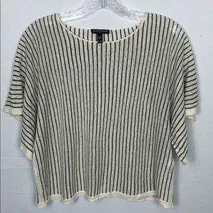 Eileen Fisher Organic Cotton Blend Knit Top PP
